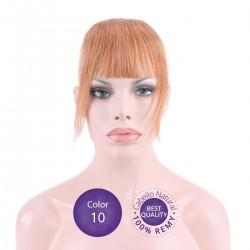 Flequillo postizo cabello natural Color 10