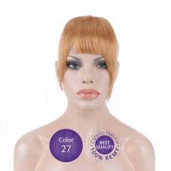 Flequillo postizo cabello natural Color 27