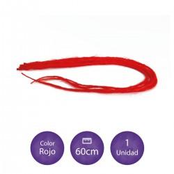 Rasta de fibra con punta de keratina de color 27 rubio claro