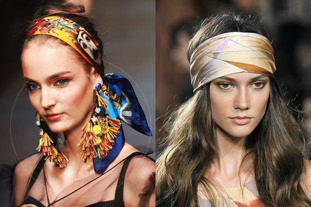 peinados con extensiones de cabello natural 100% remy y pañuelos