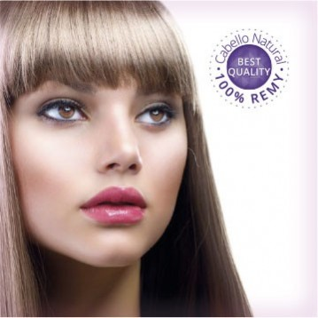 Flequillos postizos cabello natural