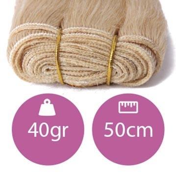 Cabello cosido 40 gramos 50 cms largo