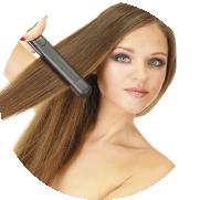 Reducir las fuentes de calor, secadores, planchas alisadoras, rozadoras extensiones de cabello natural
