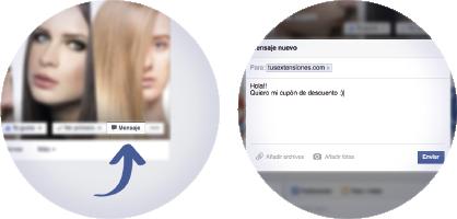 Envianos un mensaje privado por facebook para conseguir nuestro cupon de descuento