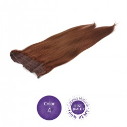 Color 4 Chocolate - Extensiones Flip Hair lisas 55cm largo 23cm ancho