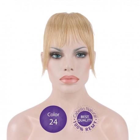 Flequillo postizo cabello natural Color24