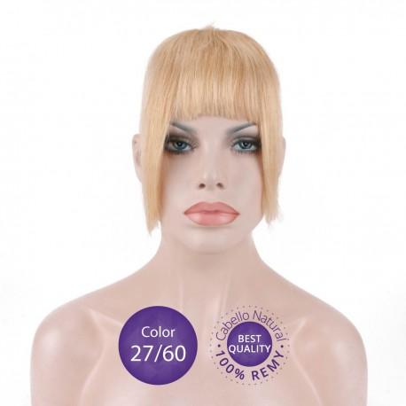 Flequillo postizo cabello natural Color 27/60