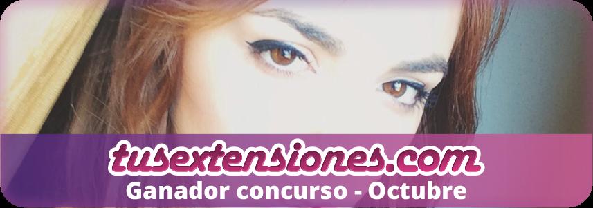Ganadora concurso Chica TusExtensiones – Octubre